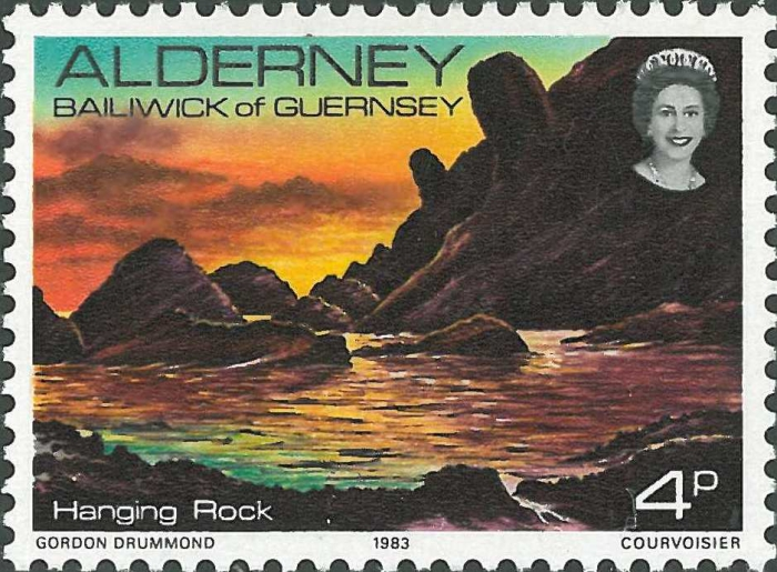Alderney, Hanging Rock