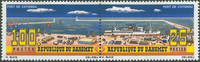 Benin, Cotonou Harbour