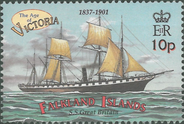 Britse S.S.Great Britain (1845)
