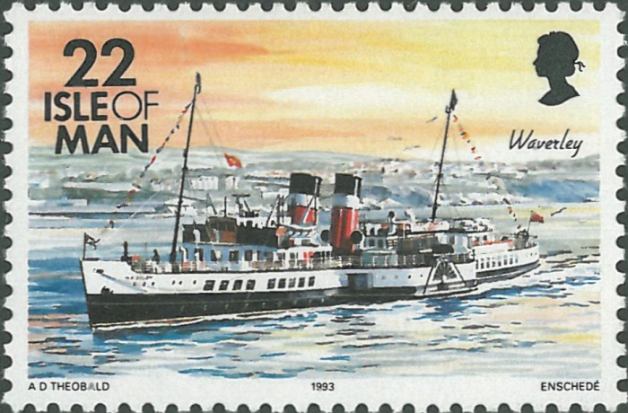 "Britse raderstoomboot ""PS Waverley"" (1947)"