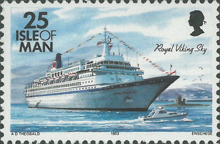 "Noors cruise schip ""Royal Viking Sky"" (1972)"