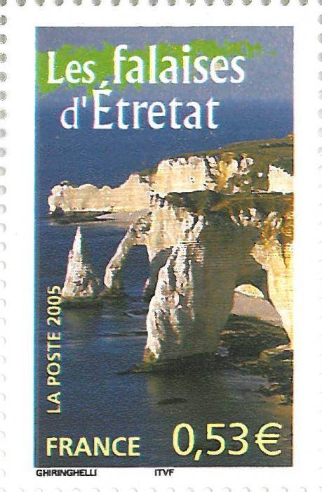 France, Falaises d'Étretat