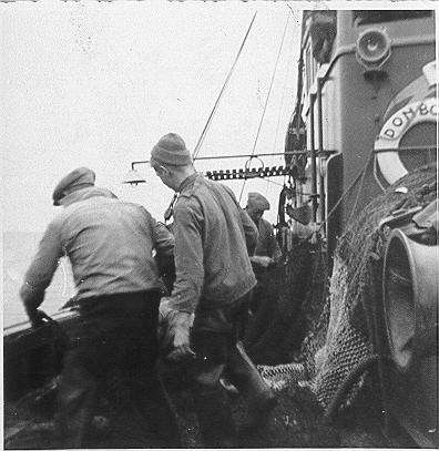 Aan boord van O.140 Don Bosco (bouwjaar 1938)