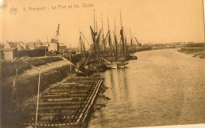 Haven en kade Nieuwpoort