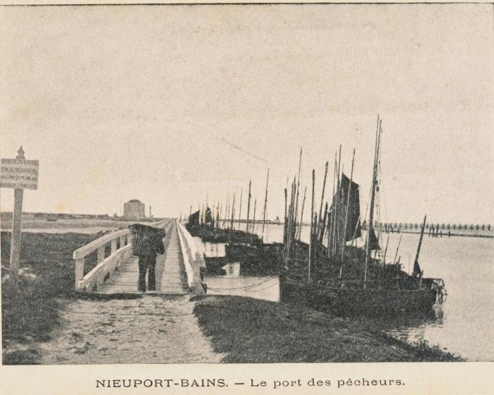 Vissershaven van Nieuwpoort-Bad
