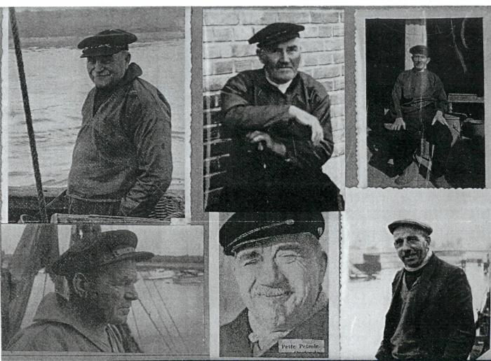 Enkele oude vissers
