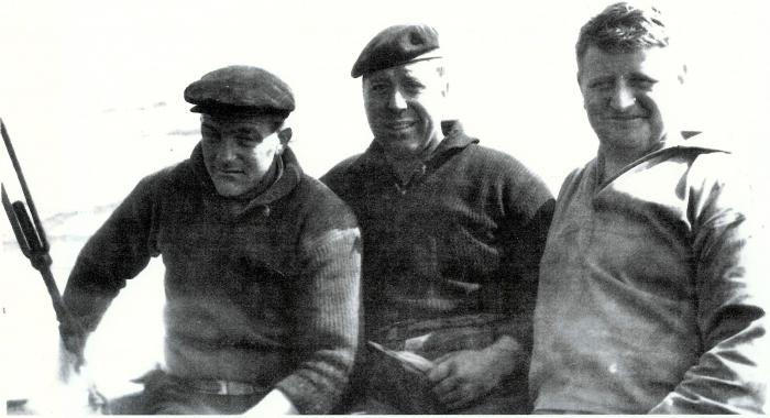 3 vissers