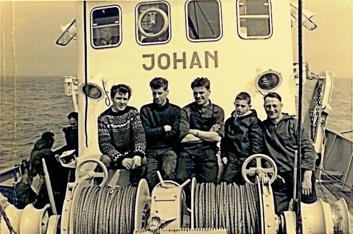 Vissers aan boord van de Johan