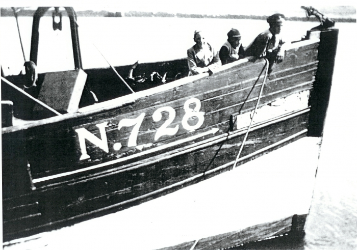 Bemanning N.728 O.L.V. Lombartzijde (Bouwjaar 1935)