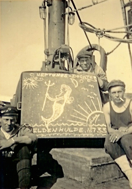 Bemanning N.733 Heldenhulde (bouwjaar 1936)