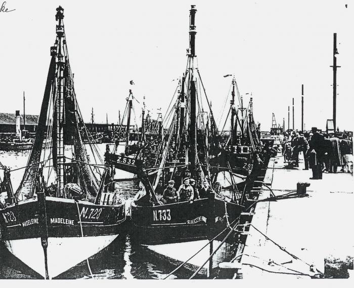 Aan boord van de N.733 Heldenhulde (Bouwjaar 1936)