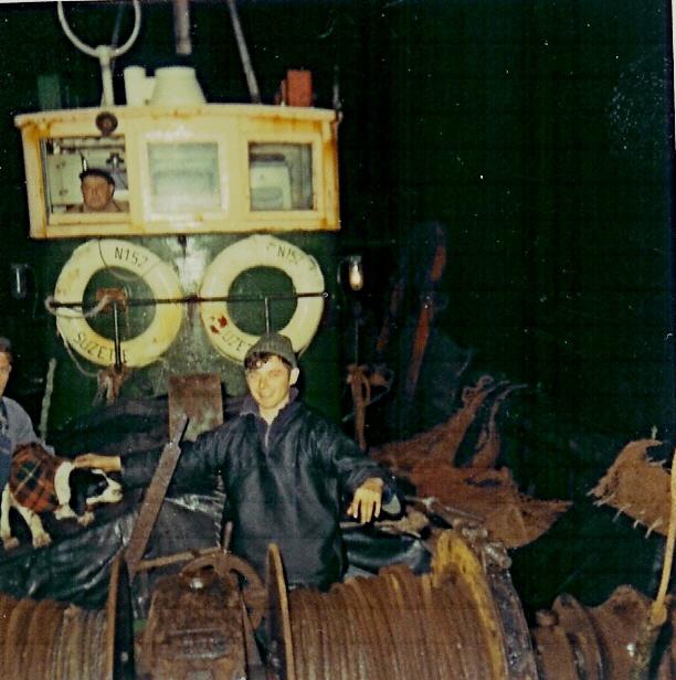 Aan boord van de N.152 Suzette (Bouwjaar 1946)