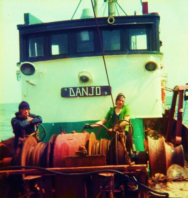 Bemanning aan winch van de N.172 Danjo (Bouwjaar 1955)