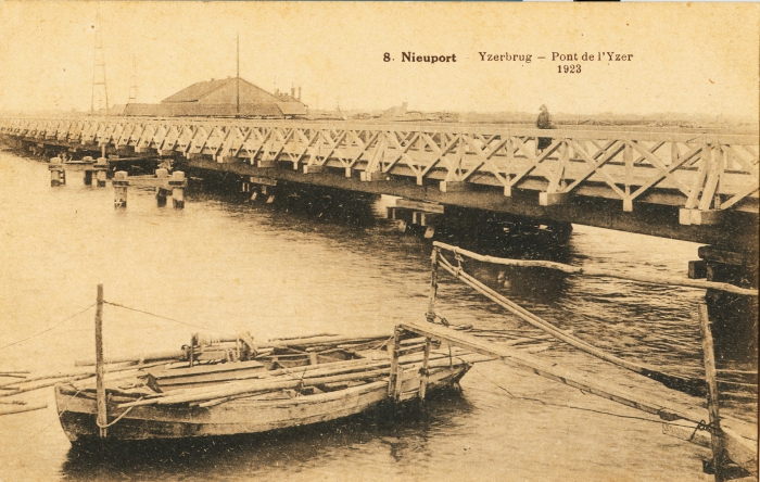Palingschuit bij Ijzerbrug Nieuwpoort