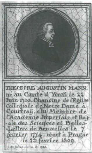 Théodore-Augustin Mann, portret