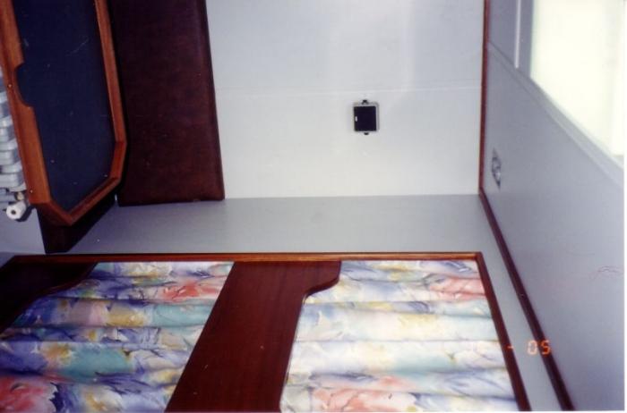 Logies met twee kooien van Z.186 Shannon (Bouwjaar 1991)