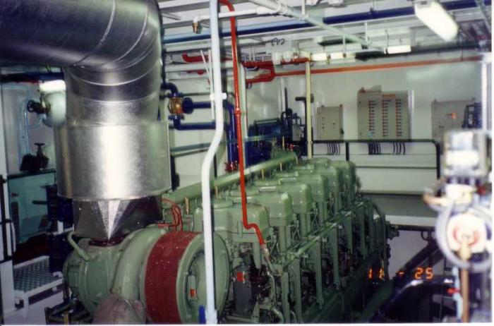 Hoofdmotor Z.186 Shannon (Bouwjaar 1991)