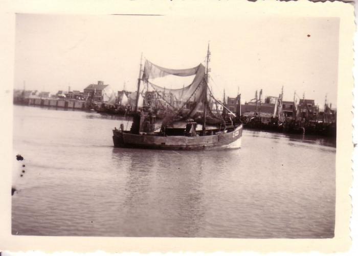 garnaalvissersvaartuigje Z.425 De Hopende Visscher (Bouwjaar 1922)