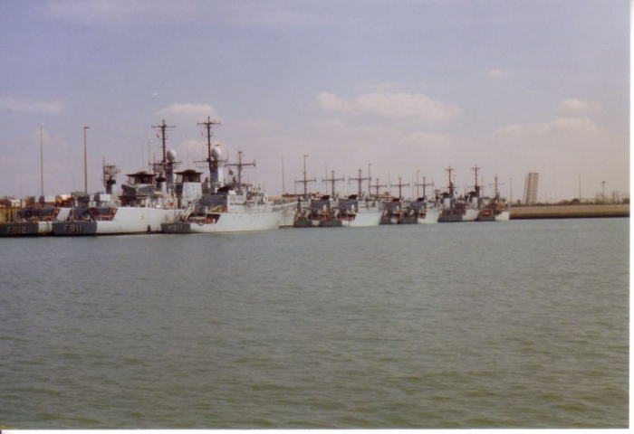 Haven Belgische zeemacht te Zeebrugge