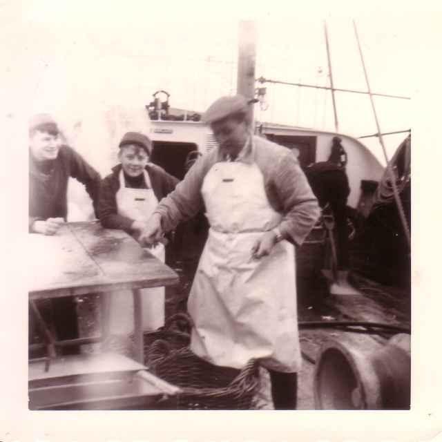 Vis kuisen voor school op O.29 Broodwinner (Bouwjaar 1967)