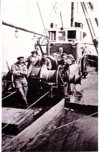 Aan boord van de Z.540 Orion (Bouwjaar 1945)