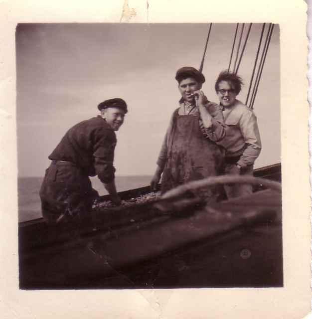 Constant Vantorre, Depaepe en andere visser aan boord