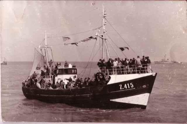 Zeewijding Z.415 Zeearend (Bouwjaar 1963) te Heist