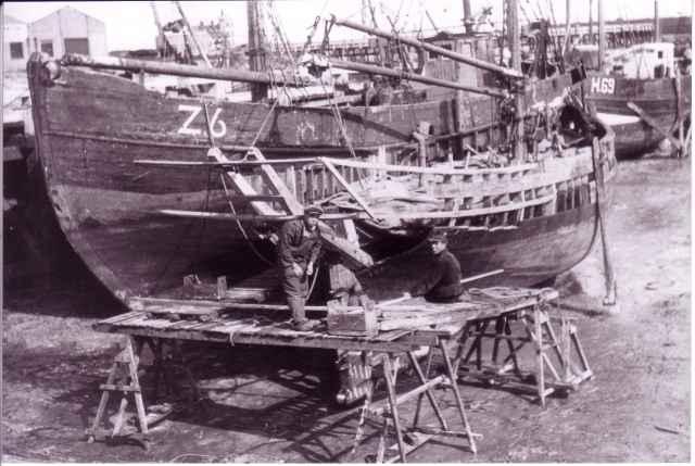 Z.6 wordt gebouwd op kuisbank Zeebrugge