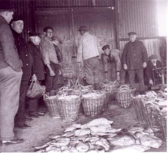 Visveiling in vismijn noord
