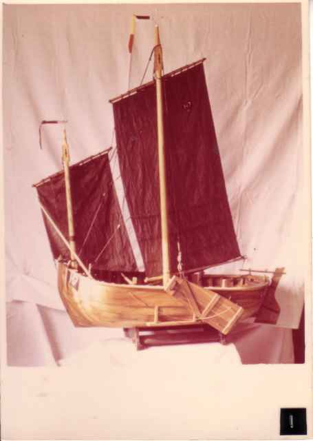 Scheepsmodel H.7