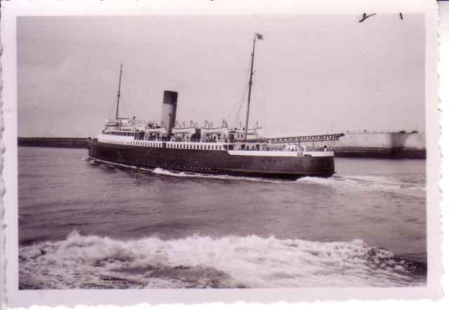 Ferry van Calais naar Douvre