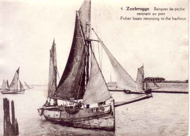 H.4 loopt haven Zeebrugge binnen