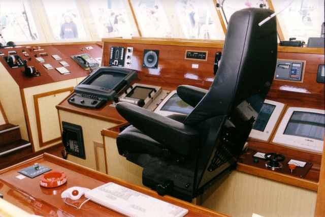 Binnenzicht in brug Z.576 Mare Nostrum (bouwjaar 1999)
