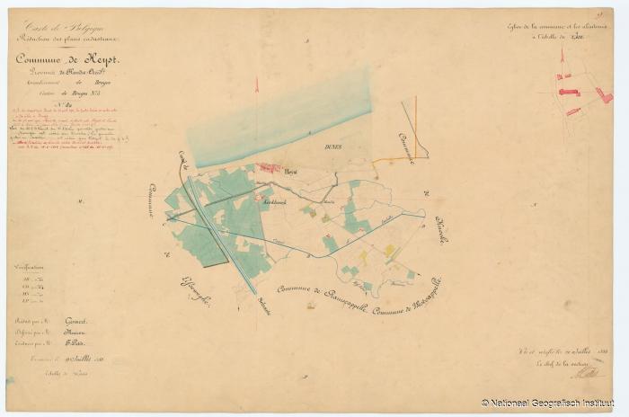 Commune de Heyst - 1853