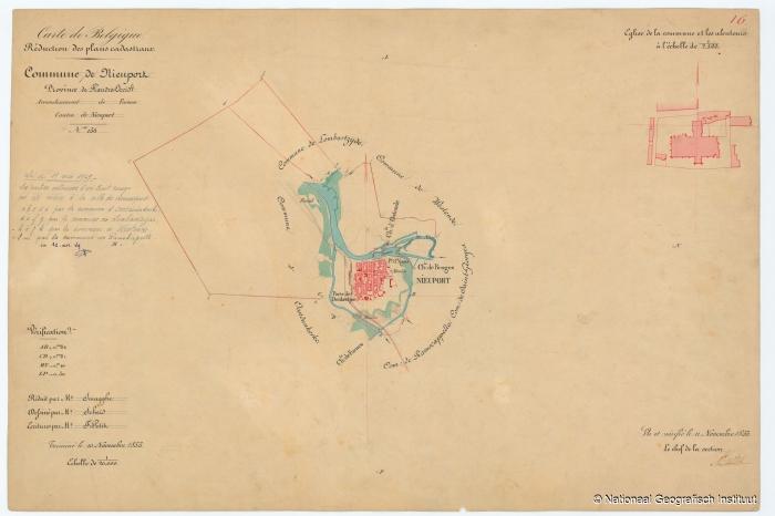 Commune de Nieuport - 1853