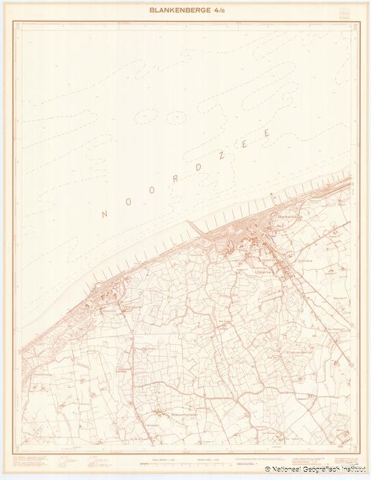 Blankenberge 4/8 - 1954