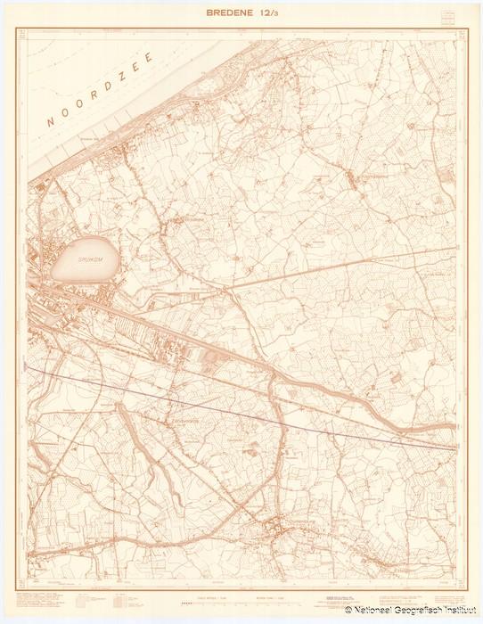 Bredene 12/3 - 1956