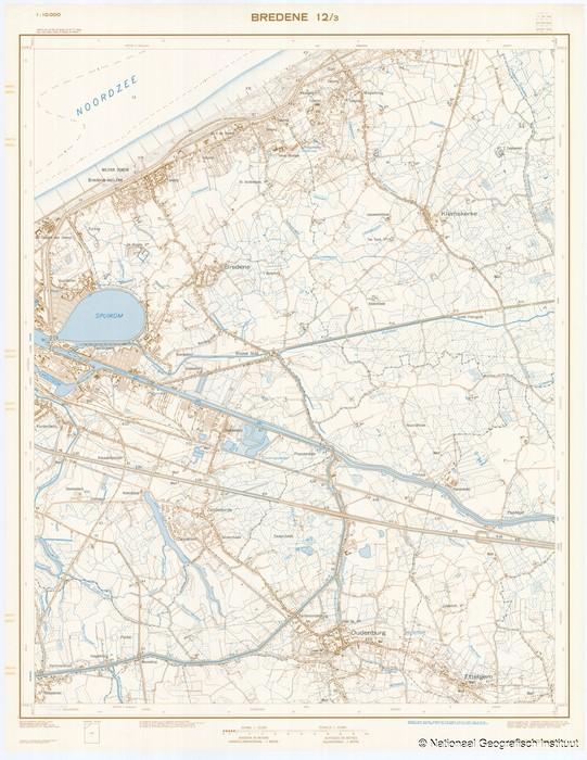 Bredene 12/3 - 1969