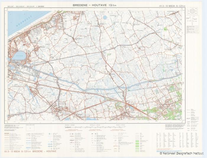 Bredene - Houtave 12/3-4 - 1982