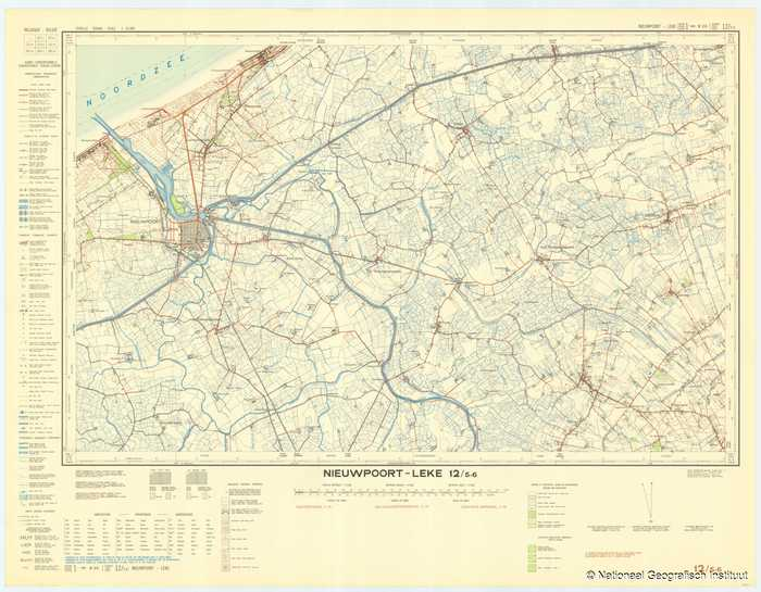 Nieuwpoort - Leke 12/5-6 - 1952