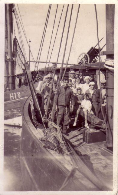 Bemanning op schip