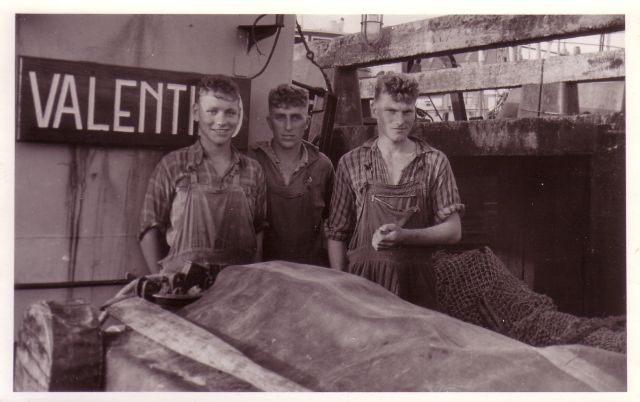Bemanningsleden aan boord