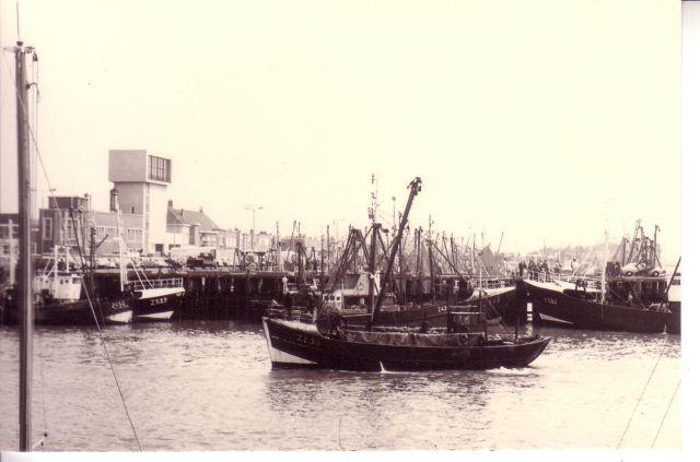 Schepen in haven Zeebrugge