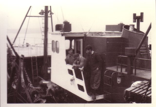 Bemanning aan boord van Z.482 Breydel (bouwjaar 1963)