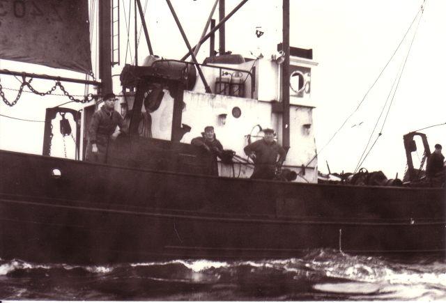 Bemanning aan boord van Z.403 Stern (bouwjaar 1961)