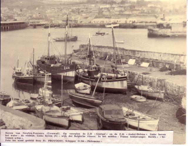Haven van Newlyn-Penzance (Cornwall)