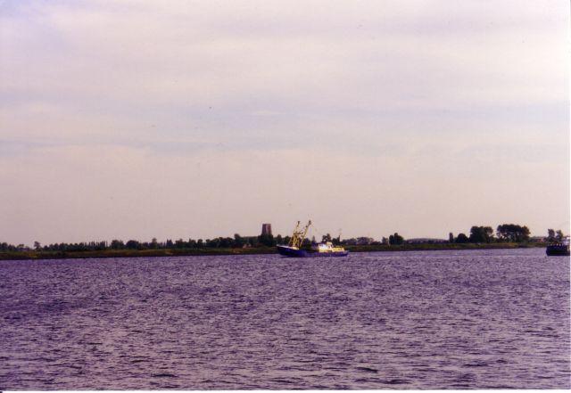 O.15 Zilvermeeuw (Bouwjaar 1975) op weg naar visgronden