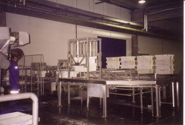 Vissorteerinstallatie te Zeebrugge