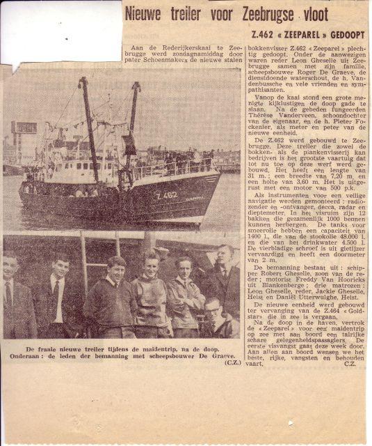 Doop Z.462 Zeeparel (Bouwjaar 1968)
