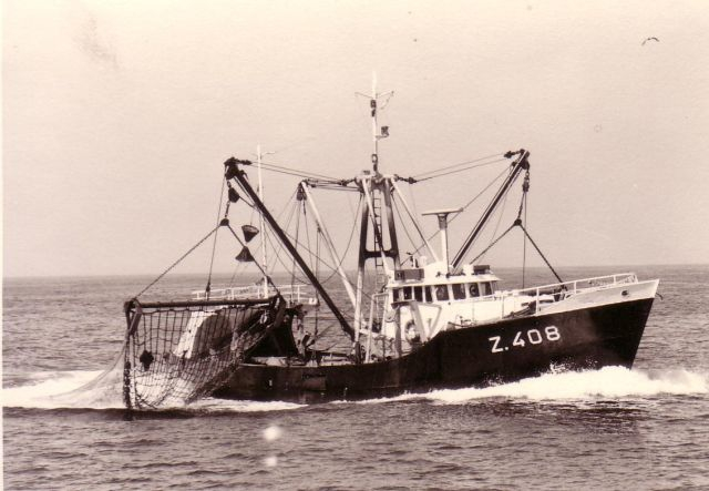 De Z.408 met netten uit